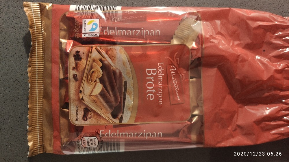 Edelmarzipan Brote von Gesch   Hochgeladen von: Gesch