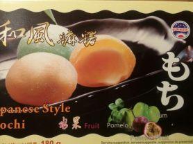 Japanese Style Mochi Fruit, Pomelo, Pflaume, Passionsfrucht   Hochgeladen von: lgnt