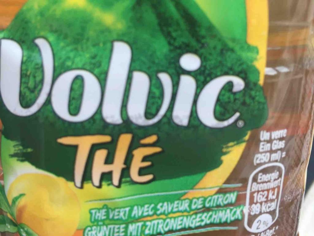 Volvic, Grüner Tee, Zitrone Kalorien - Getränke - Fddb