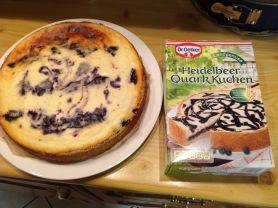 Heidelbeer Quark Kuchen | Hochgeladen von: Fabyious