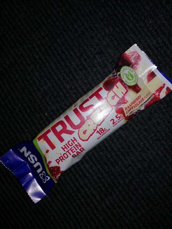 Trust Crunch High Protein Bar - Raspberry Cheesecake von geroldwirdfit | Hochgeladen von: geroldwirdfit