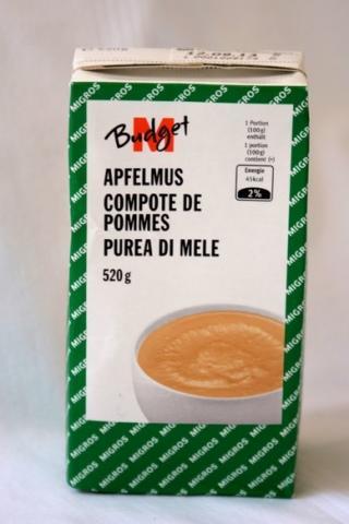 Apfelmus (M-Budget)   Hochgeladen von: sukeltelija