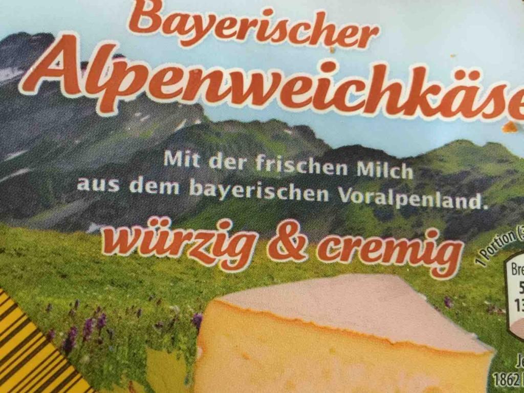Bayerischer Alpenweichkäse, würzig & cremig von Helginchen   Hochgeladen von: Helginchen