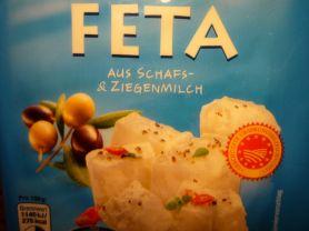 Feta, aus Schafs- und Ziegenmilch   Hochgeladen von: pedro42