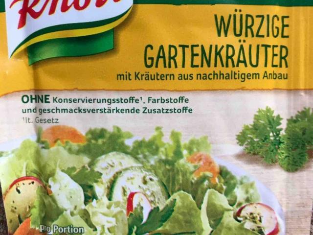 Knorr Salatkrönung , würzige Gartenkräuter von Yve1980 | Hochgeladen von: Yve1980