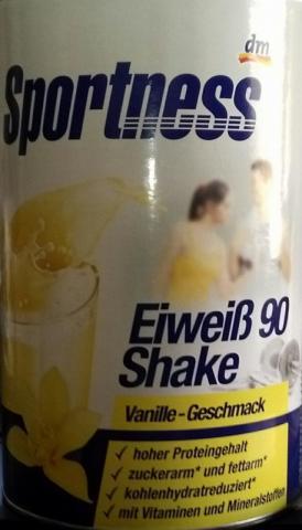 Eiweiß 90 Shake, vanille | Hochgeladen von: silence160925