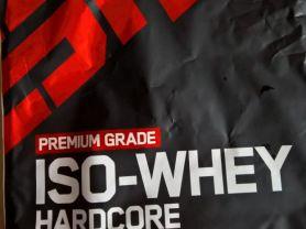 ISO-Whey Hardcore, Erdbeere   Hochgeladen von: zyruz