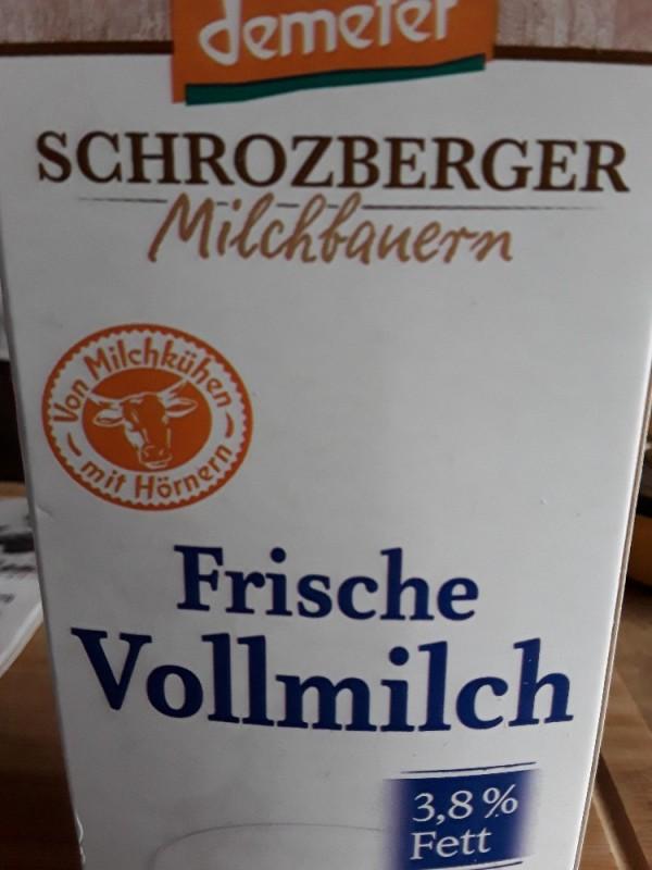 Molkerei Schrozberg, frische Vollmilch 3,8 % Fett von KOF | Hochgeladen von: KOF