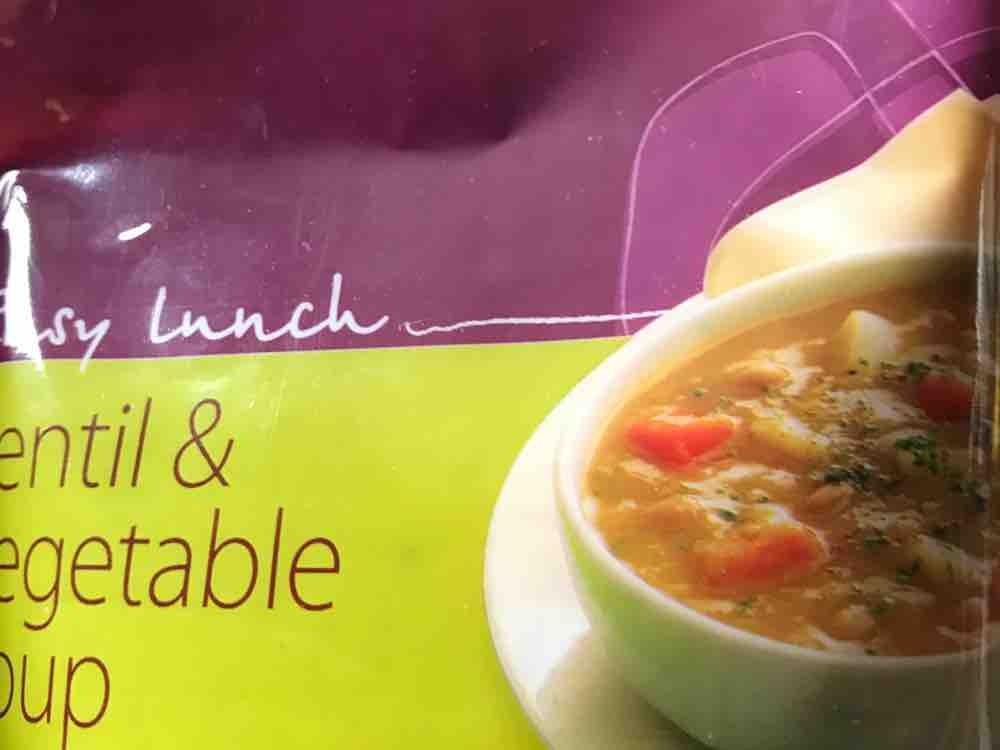 diet chef Lentil & Vegetable Soup, Linsen von assilemm763 | Hochgeladen von: assilemm763