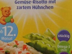 Gemüse-Risotto mit zartem Hühnchen   Hochgeladen von: Vivcsy