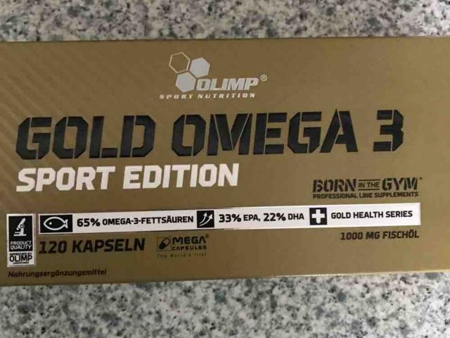 Gold Omega 3, Sport Edition von trixilein71 | Hochgeladen von: trixilein71