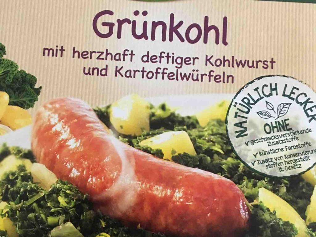 Grünkohl mit herzhaft deftiger Kohlwurst und Kartoffelwürfeln von bloxdorf | Hochgeladen von: bloxdorf
