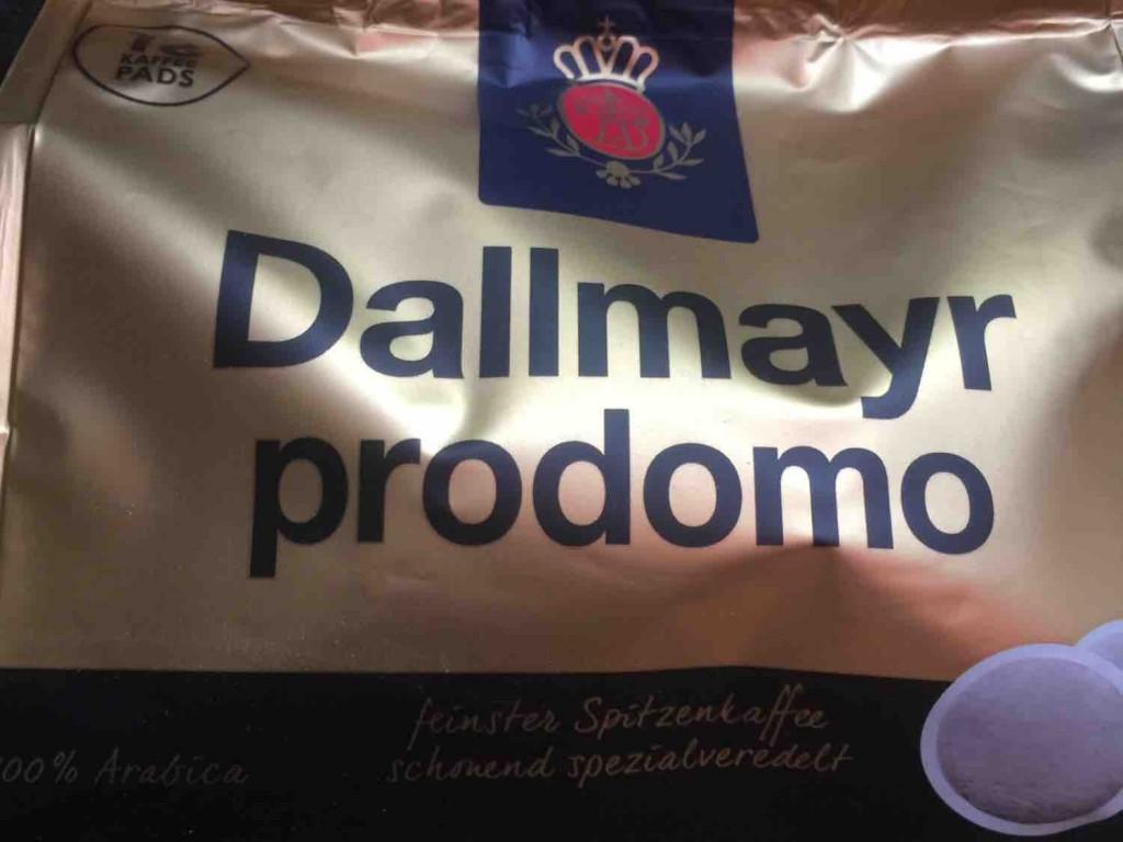 Dallmayr Prodomo Pads,  100% Arabica von PicardOne   Hochgeladen von: PicardOne