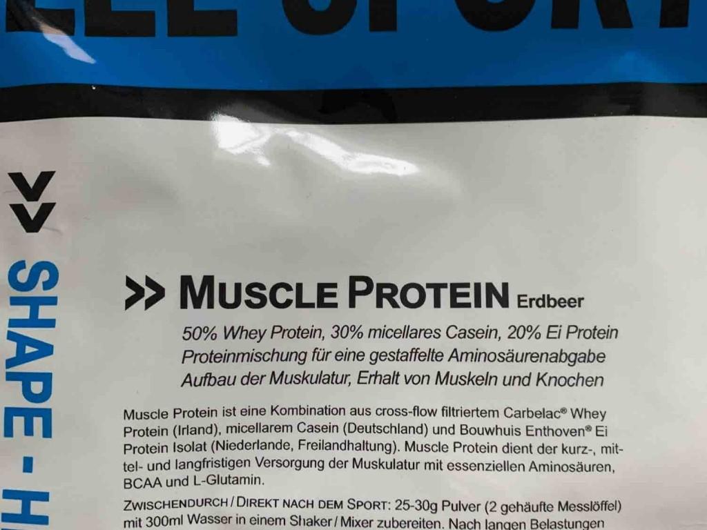 Muscle Protein, Erdbeer von mwachter | Hochgeladen von: mwachter