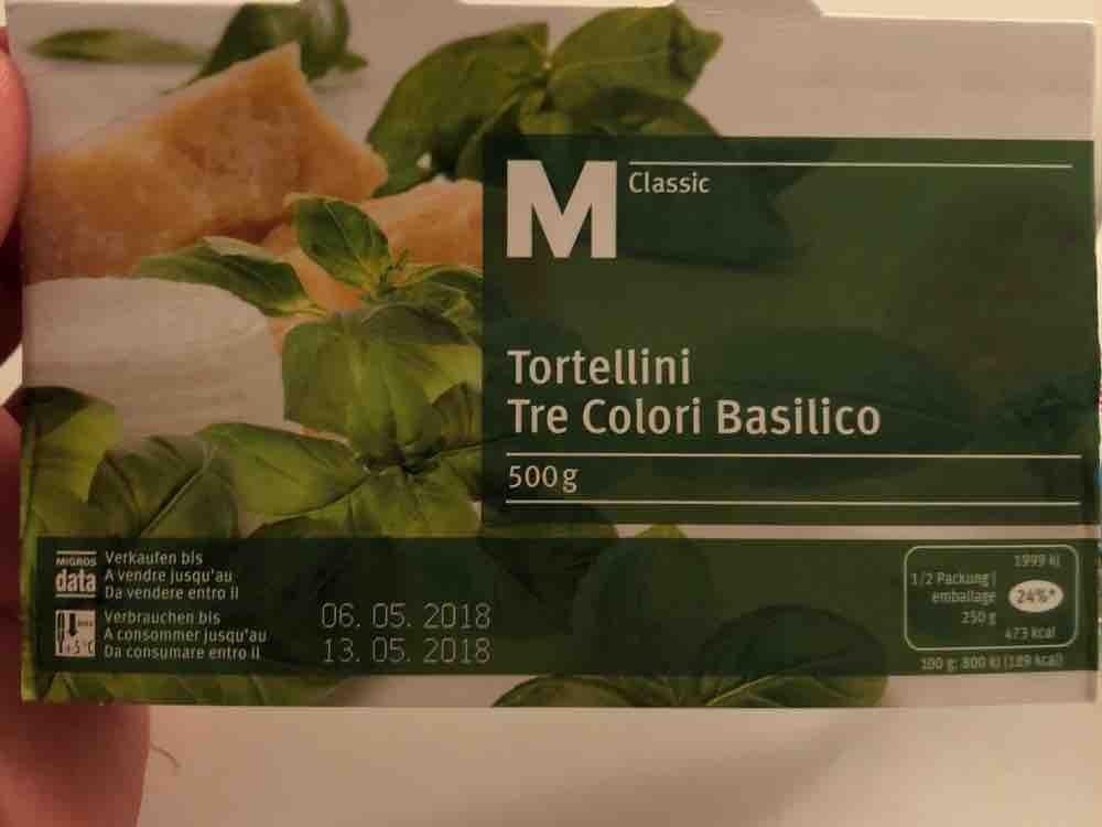 Tortellini Tre Colori Basilico, Basilico von Alnusra | Hochgeladen von: Alnusra