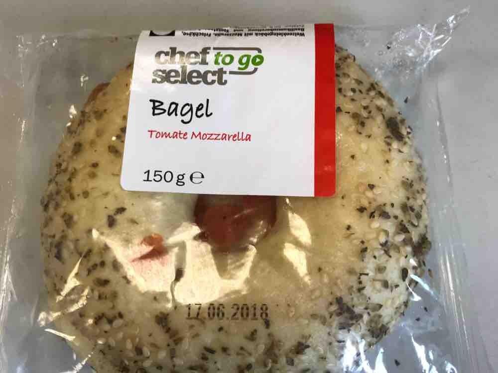 Bagel, Tomate Mozzarella von LutzR | Hochgeladen von: LutzR