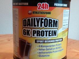 Eiweißshake - Schoko - Dailyform 6K - Protein - PULVER, Scho | Hochgeladen von: evelyn307