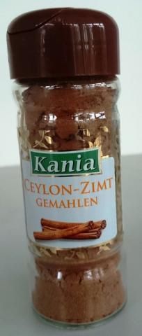 Ceylon-Zimt Kania   Hochgeladen von: gammamanuell100
