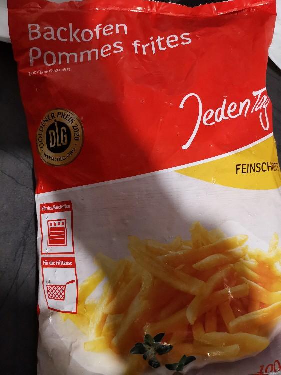 Backofen Pommes Kalorien