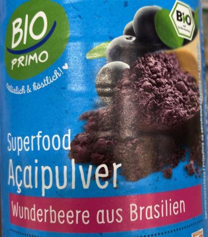 Acaipulver Bio Primo | Hochgeladen von: Devayani