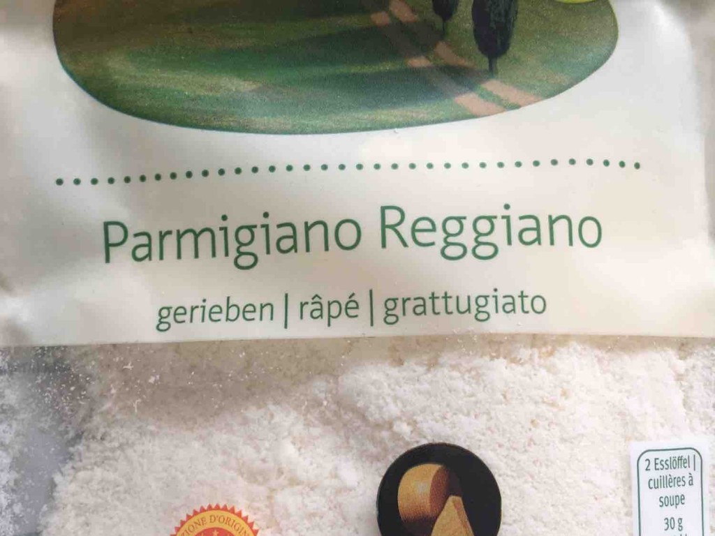 Bio Parmigiano Reggiano gerieben von Jorge123   Hochgeladen von: Jorge123
