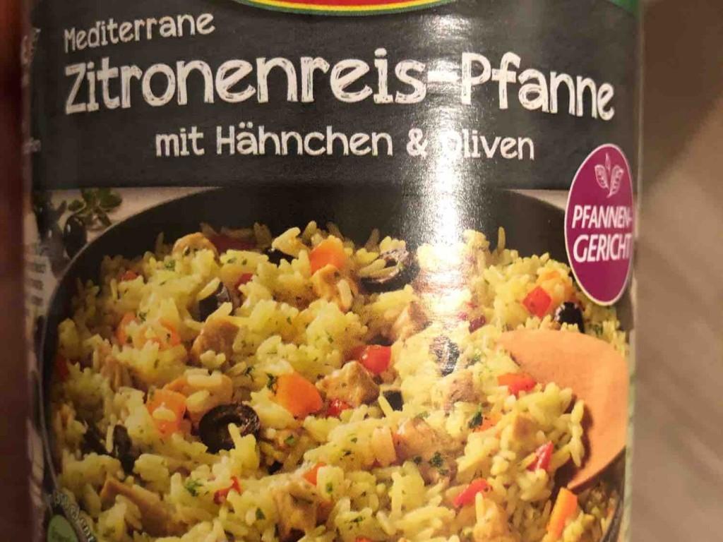 Zitronenreis-Pfanne, mit Hähnchen & Oliven von NadineStrueber | Hochgeladen von: NadineStrueber