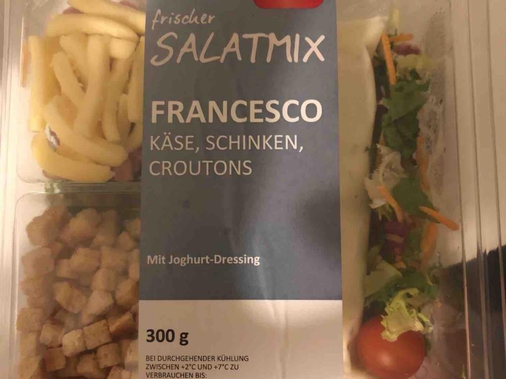 frischer Salatmix, Francesco Käse,  Schinken mit Caesar-Dressing von Nea   Hochgeladen von: Nea