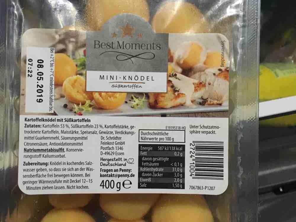 Mini-Knödel  aus Süßkartoffeln von alexandra.habermeier | Hochgeladen von: alexandra.habermeier
