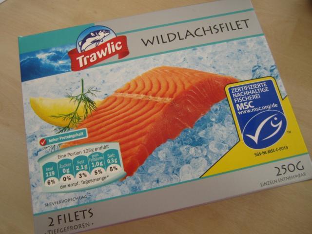 Wildlachsfilet, natur   Hochgeladen von: Teecreme