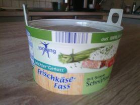 Frischkäse-Fass (Jogging), mit feinem Schnittlauch 5%   Hochgeladen von: martina261269731