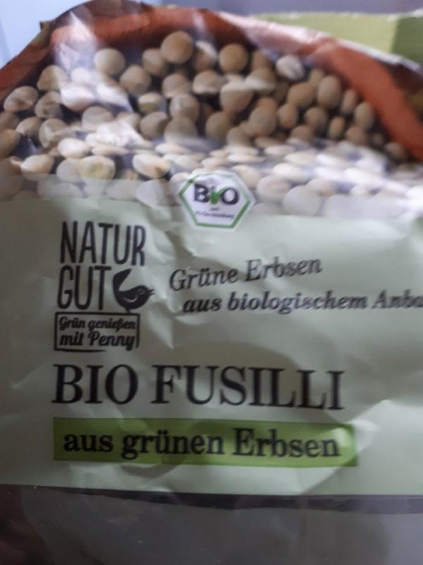 Bio Fusilli, aus grünen Erbsen von Kaschperle | Hochgeladen von: Kaschperle