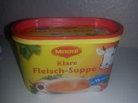 Klare Fleisch-Suppe   Hochgeladen von: slopi69