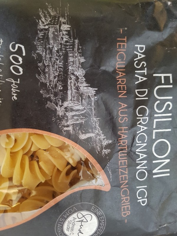 Fusillon Pasta von malguggn   Hochgeladen von: malguggn