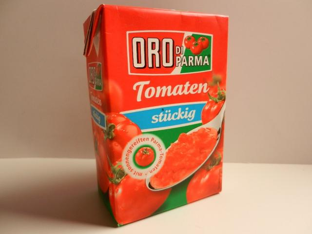 ORO Di Parma Tomaten, stückig   Hochgeladen von: maeuseturm