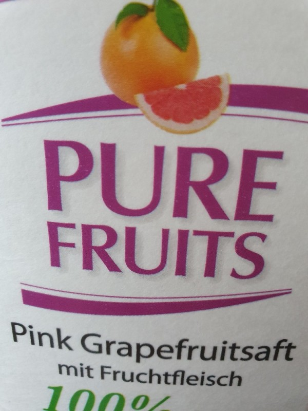 Pure Fruits 100% Grapefruit direkt gepresst von Engeloch   Hochgeladen von: Engeloch