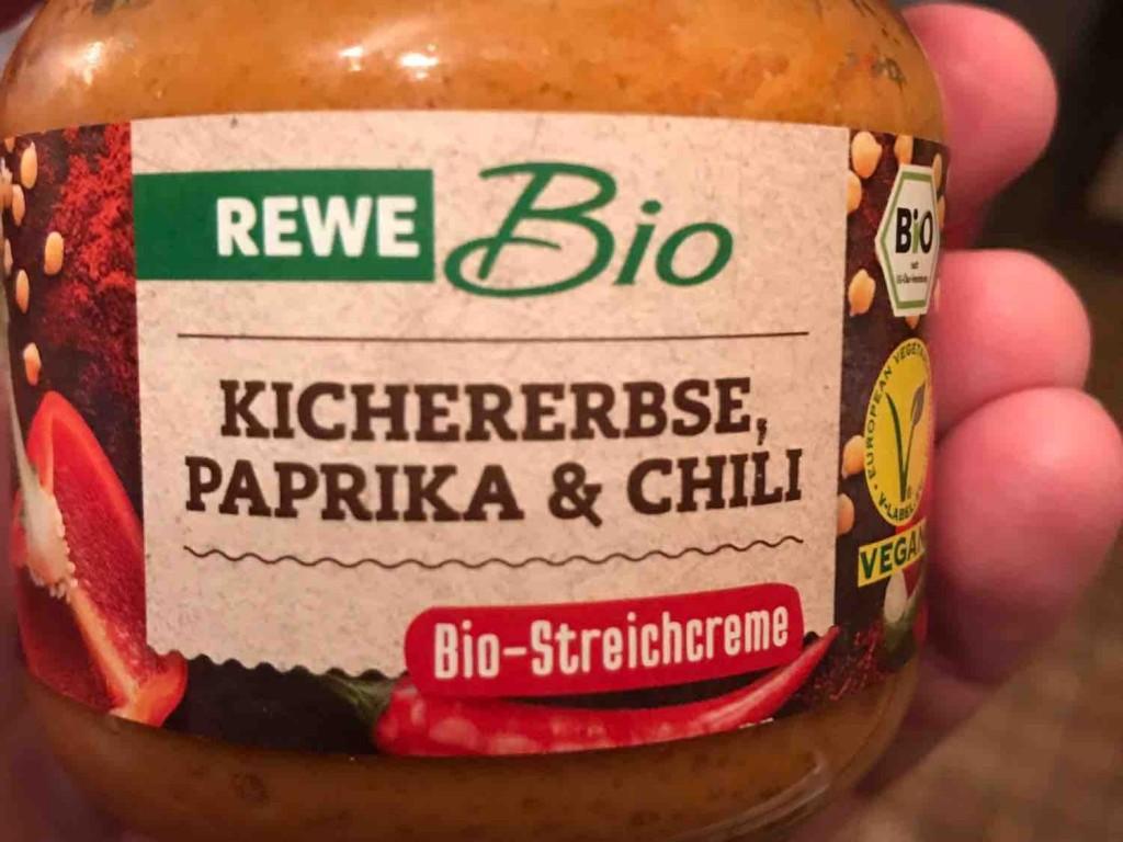 Bio Streichcreme, Kichererbse, Paprika & Chili von mickeywiese | Hochgeladen von: mickeywiese