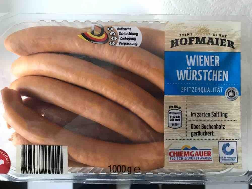 kalorien wiener würstchen