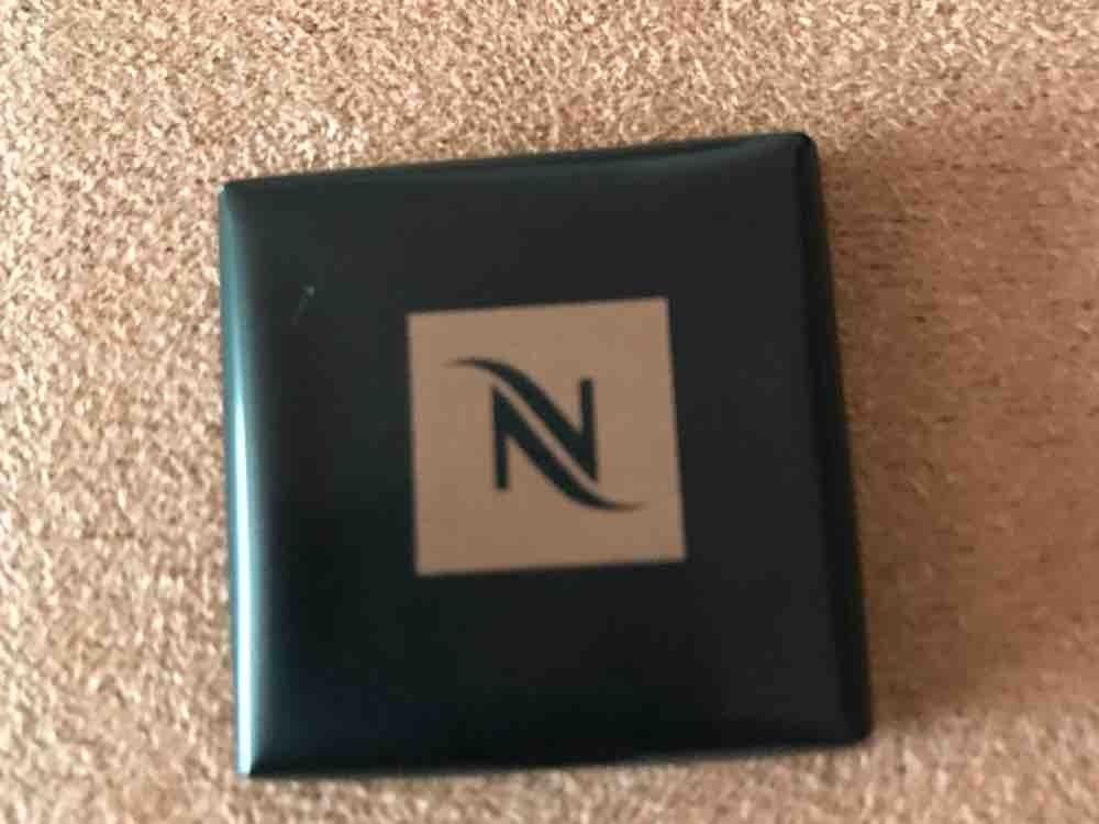 Nespresso Chocolat Noir, Täfelchen aus Bitterschokolade von hedi54 | Hochgeladen von: hedi54