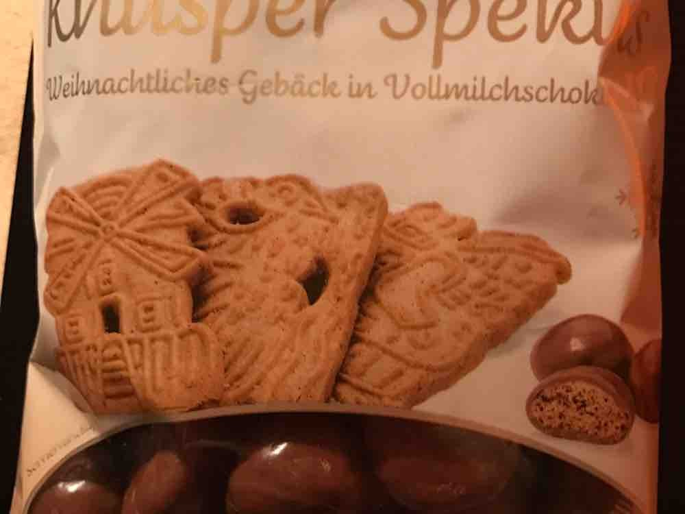 Knusper Spekus, Weihnachtliches Gebäck in Vollmilchschokolade von Binchen1993 | Hochgeladen von: Binchen1993