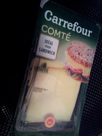 Carrefour - Compté 35% (Käse in Scheiben)   Hochgeladen von: jetztaberrichtig