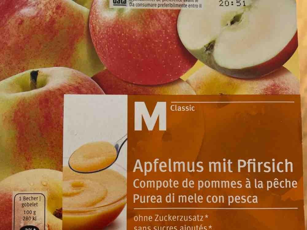 Apfelmus mit Pfirsich von Nadiiine | Hochgeladen von: Nadiiine