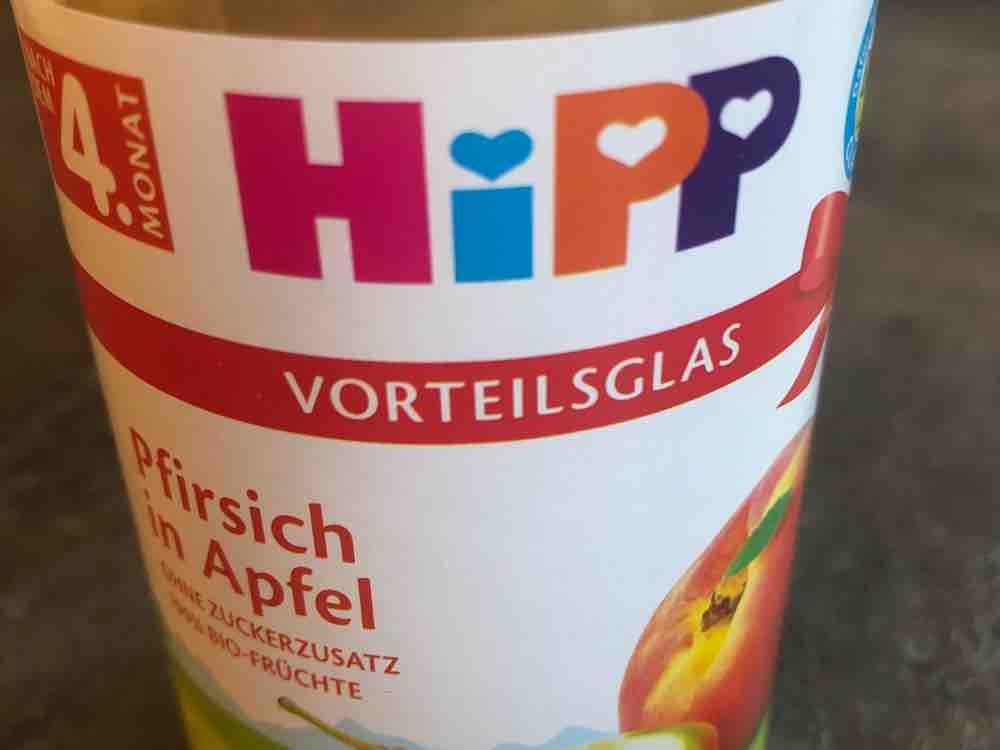 Pfirsich in Apfel von learntolove | Hochgeladen von: learntolove