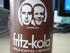 Fritz-Kola, Kola-Kaffee-Limonade   Hochgeladen von: pedro42