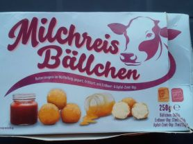 Milchreis B?llchen, Reiserzeugnis im Waffelteig   Hochgeladen von: Gospelrose