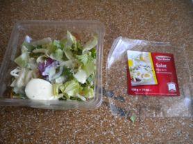Salat, Käse & Ei mit Frenchdressing (Star Marke)   Hochgeladen von: Julia Rullerova
