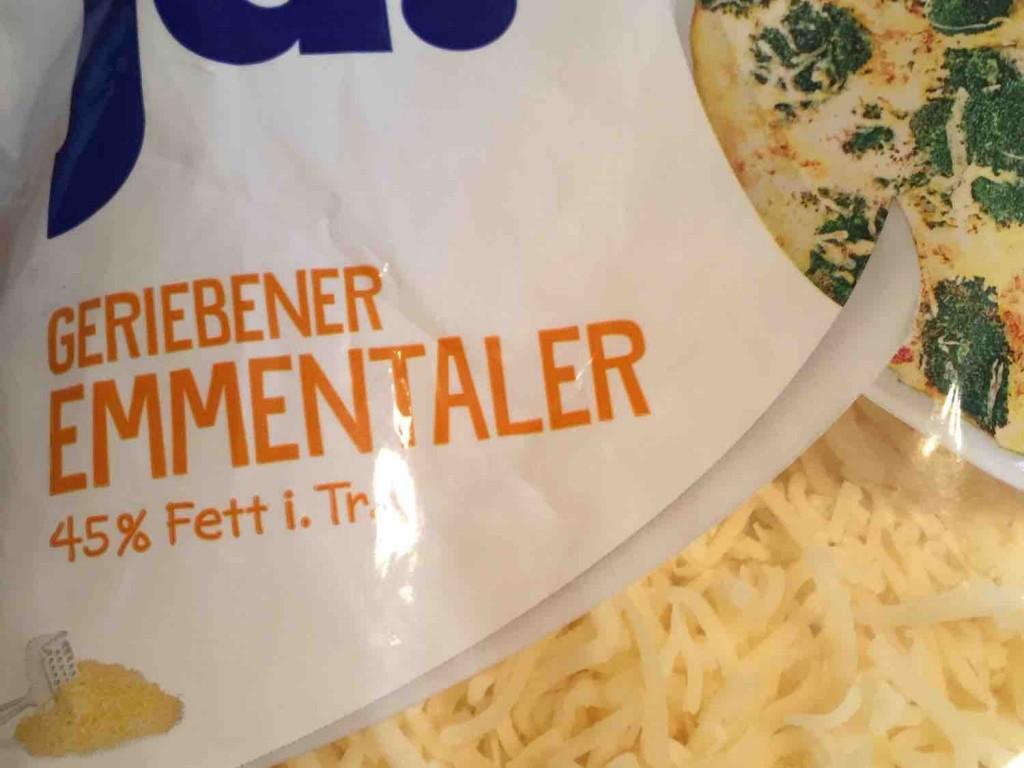 Käse gerieben, 45% Fett i. Tr., Emmentaler von LizzySala | Hochgeladen von: LizzySala