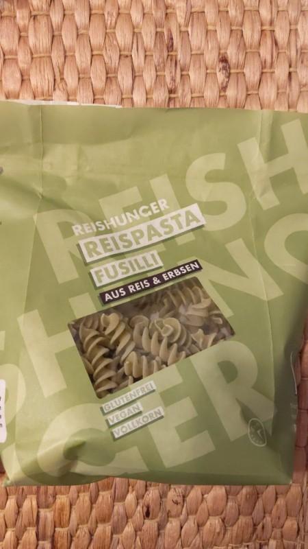 Reispasta Fusilli, Reis und Erbsen von micgep | Hochgeladen von: micgep