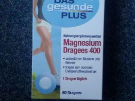 Magnesium Dragees 400 Das gesunde Plus   Hochgeladen von: DanaNici75
