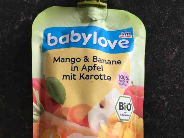 babylove Mango &  Banane in Apfel mit Karotte, ohne Zuckerzusatz von Bastian84 | Hochgeladen von: Bastian84
