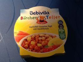 Bebevita Bärchen Teller Kartoffel Gemüse Topf mit Hackfleisc | Hochgeladen von: JuttaHerweg